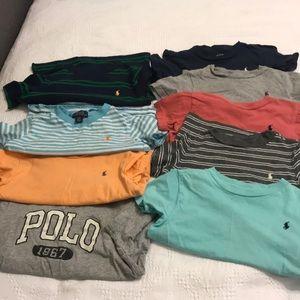 Boys polo tshirts